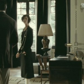Black and white-Coco Chanel and the gorgeous interior design