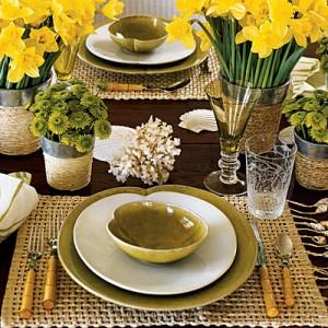 How ... & An elegant summer dinner - Creative table setting decoration tips ...