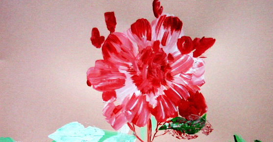 My floral water color painting