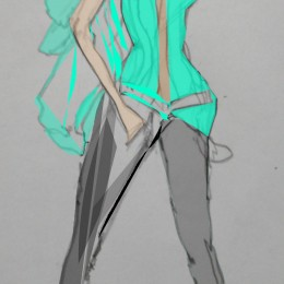 I Love Fashion Illustration