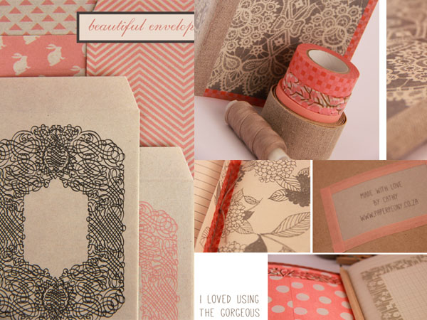 paper peony notebook
