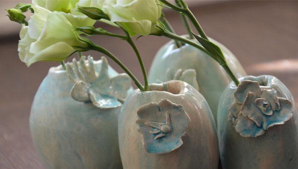 vases spring flower